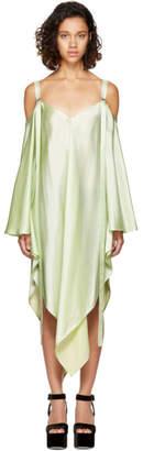 Sies Marjan Mint Phoebe Off-the-Shoulder Dress