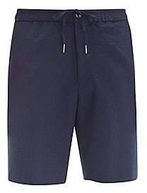 Theory Men's Noah Seersucker Shorts