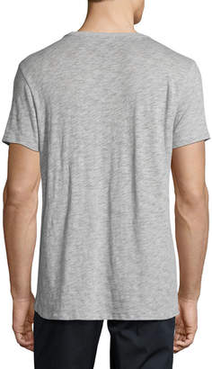 ATM Anthony Thomas Melillo Short-Sleeve Crewneck Slub T-Shirt