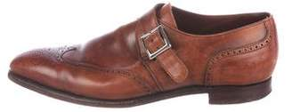Crockett Jones Crockett & Jones Wingtip Monk Strap Brogues