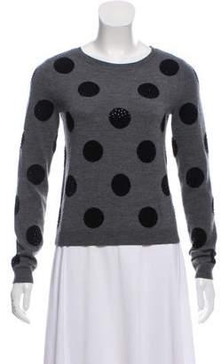 Alice + Olivia Embellished Wool Sweater