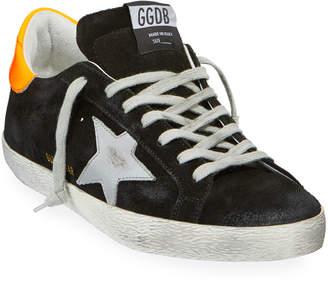 Golden Goose Men's Superstar Suede Sneakers