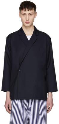 Sunnei Blue Kimono Blazer