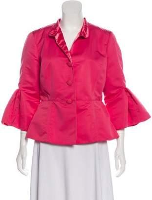 Armani Collezioni Stand Collar Casual Jacket