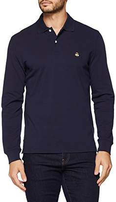 Brooks Brothers Men's Polo Maniche lunghe Shirt