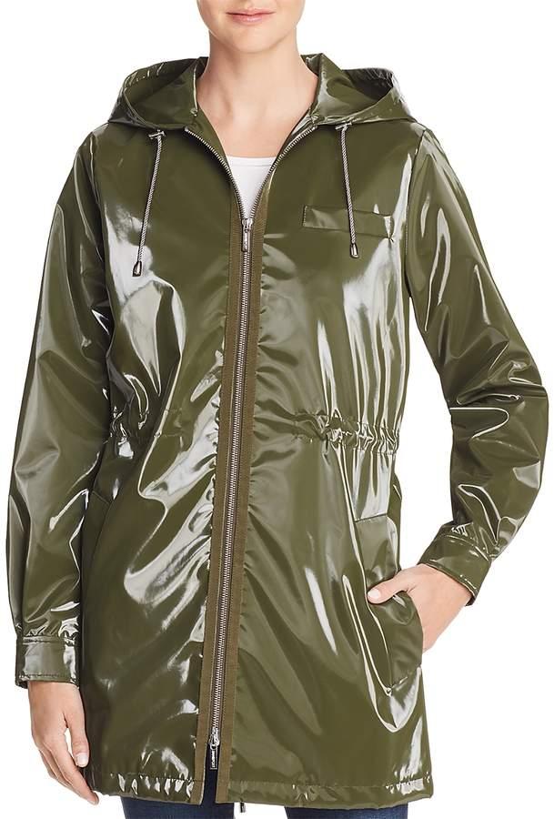 London Shiny Raincoat