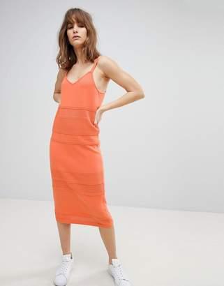 Asos DESIGN knit cami dress