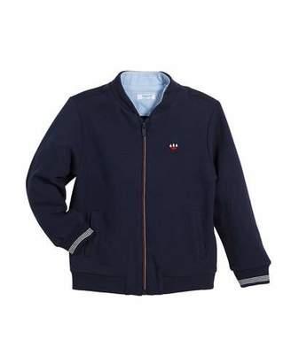 Mayoral Zip-Up Fleece Jacket, Size 3-7