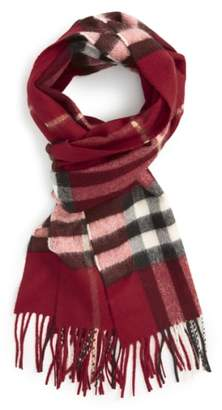 Burberry 'Giant Check' Cashmere Scarf