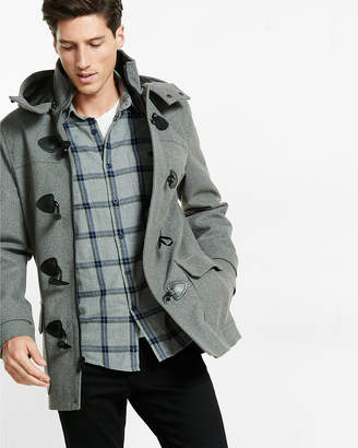 Express Wool Blend Toggle Coat