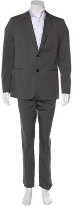 Theory Pinstriped Two-Piece Suit
