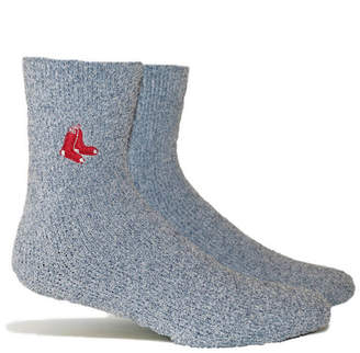 Pkwy Boston Red Sox Parkway Team Fuzzy Socks