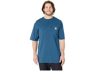 Carhartt Big Tall Workwear Pocket S/S Henley