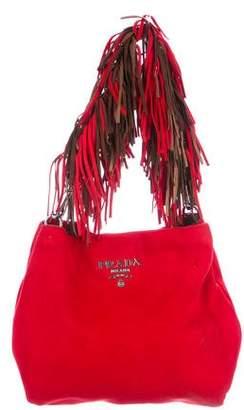 Prada Fringe Shoulder Bag
