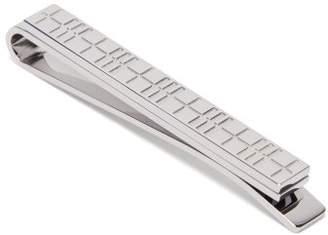 Burberry Check Tie Pin - Mens - Silver