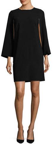 DKNY Dkny Cape Sleeve Dress