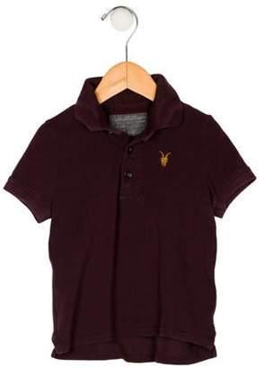 AllSaints Boys' Polo Shirt brown Boys' Polo Shirt
