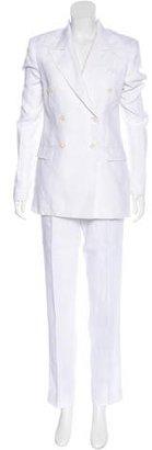 Loro Piana Linen Pantsuit $430 thestylecure.com
