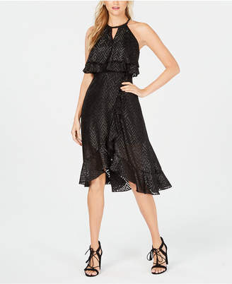 Kensie Ruffled Popover Dress