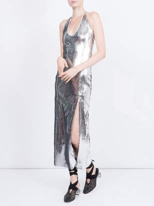 Galvan Chrome dress