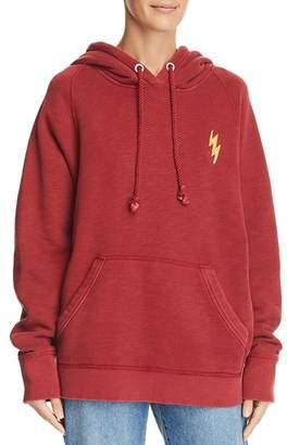 Rag & Bone Racer Lightning Hooded Sweatshirt