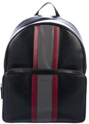 Michael Kors Leather Zip Backpack