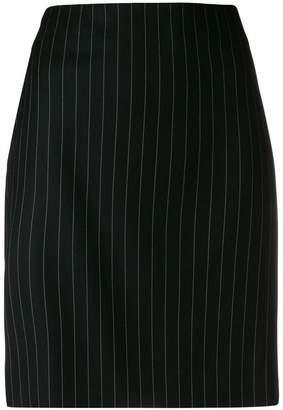 Moschino striped tailored skirt