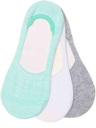 Kelly & Katie Sneaker No Show Liners - 3 Pack -Mint Green (Accessories Only) - Women's