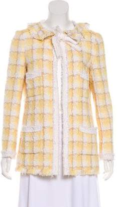 Chanel Fringed Tweed Jacket