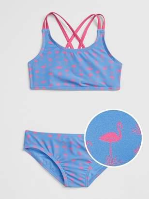 Gap Print Swim Two-Piece