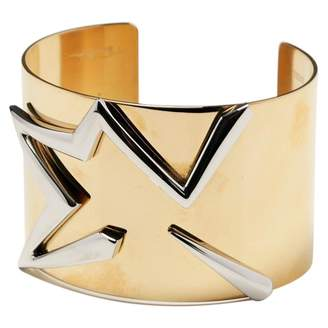 Thierry Mugler Gold Metal Bracelets