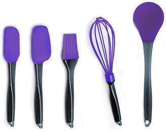Berghoff Geminis 5Pc Silicone Whisk & Tool Set Purple