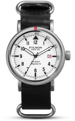 Filson Men's Air Scout Watch $1,000 thestylecure.com