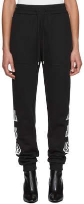 Alyx Black Visual Edition Colorblock Logo Lounge Pants