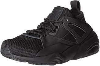 Puma Kids' Bog Sock Tech Jr Sneaker, Black, 4 M US Big Kid