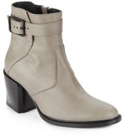 Leather Ankle Boots $595 thestylecure.com