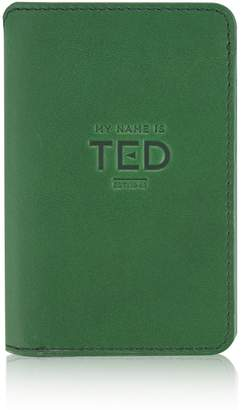 My Name Is TED - Emerald Stairway Wallet With Luxury Suede