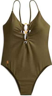 Ralph Lauren Bungee One-Piece Swimsuit