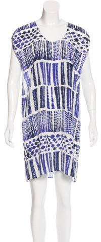 Max Mara MaxMara Watercolor Shift Dress