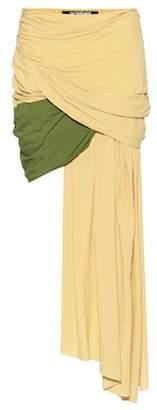 Jacquemus La Jupe Saaf asymmetric skirt