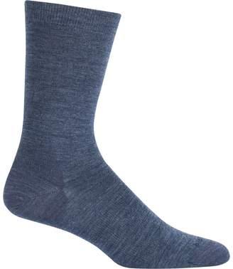 Icebreaker Lifestyle Fine Gauge Solid Crew Sock