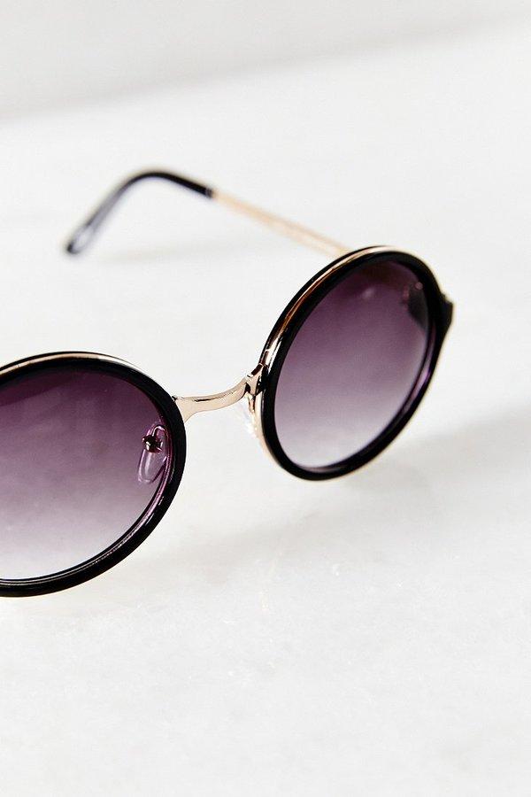 Both Worlds Round Sunglasses 5