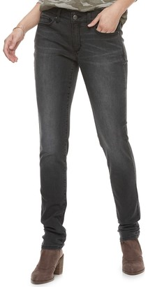 Sonoma Goods For Life Women's SONOMA Goods for Life Supersoft Midrise Stretch Curvy Skinny Jeans