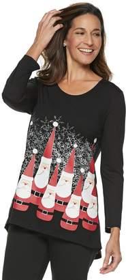 Women's Christmas Graphic Tunic