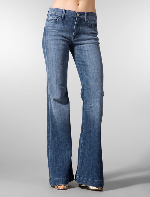 7 For All Mankind Ginger in Medium LA