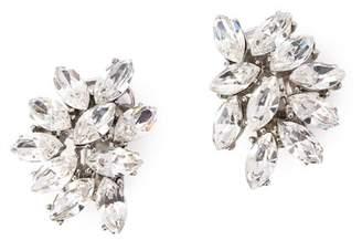Ben-Amun (ペン アムン) - BEN-AMUN Silver crystal cluster CLIP earrings