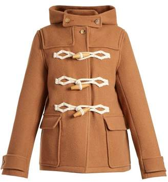 Jw Anderson - Hooded Duffle Coat - Womens - Camel