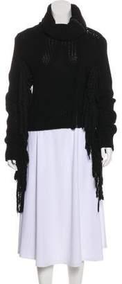 Max Mara Zip-Up Knit Sweater