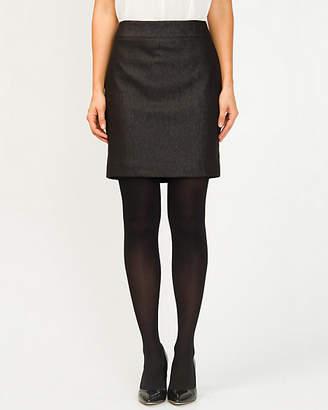 Le Château Metallic Pencil Skirt