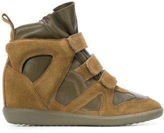 Isabel Marant Buckee wedge sneakers